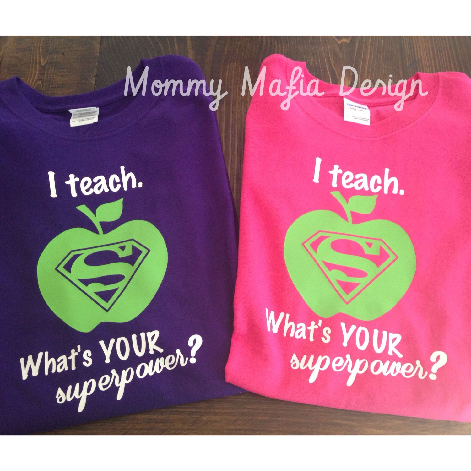 We Here At Mommy Mafia Designs Love Teachers, After All,
