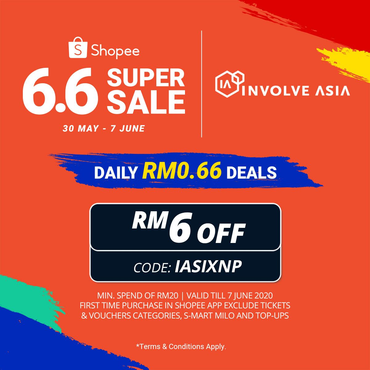 Shopee My Shopee My 6 6 In 2020 How To Apply Ad Design First Time