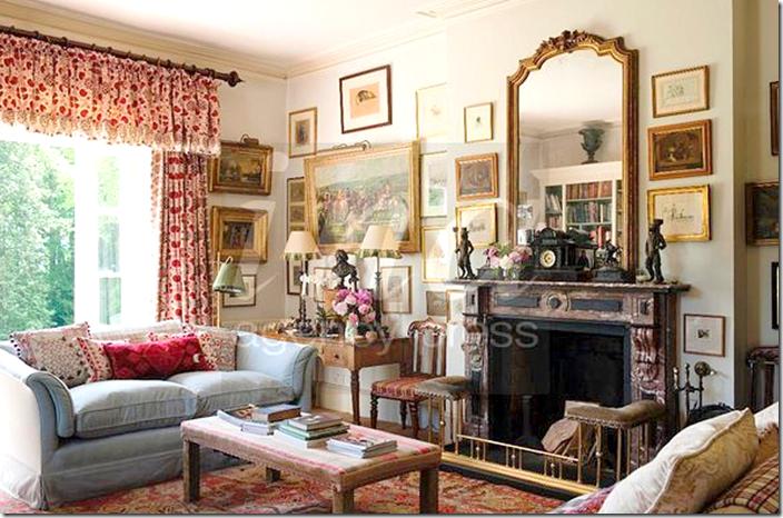 Penny Morrison's Artfilled Library  Leslie's Design Inspirations Mesmerizing Living Room Library Design Decorating Inspiration