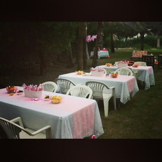 baby shower ideas cloths forward outdoor baby shower pink table cloth