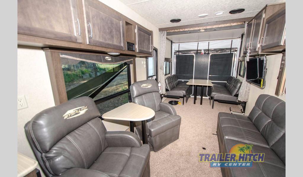 New 2018 Forest River Rv Stealth Fq2916g Toy Hauler Travel Trailer