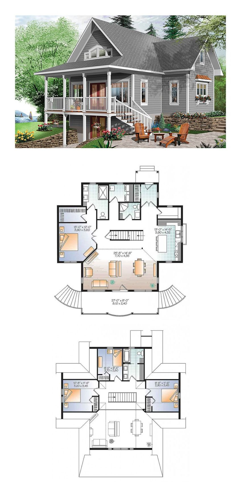 House Plans With Great Lake View