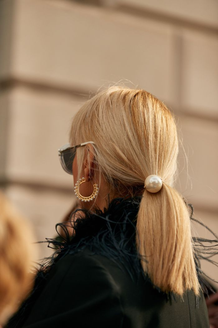 Here's How Fashion Girls Are Styling Their Hair Right Now