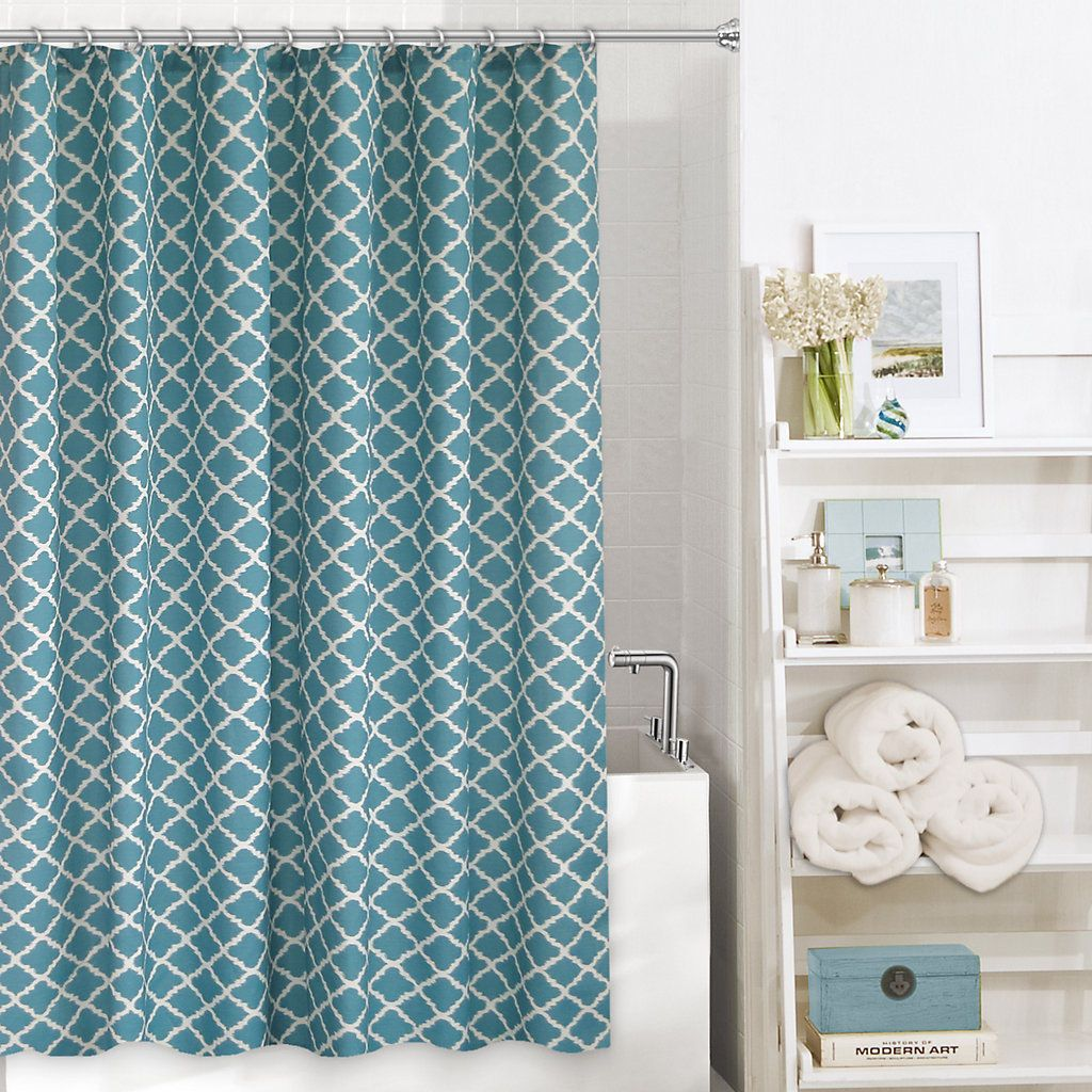 Kohls Com Shower Curtains Colordrift Misha Fabric Shower Curtain Geet Eet Fabric Shower