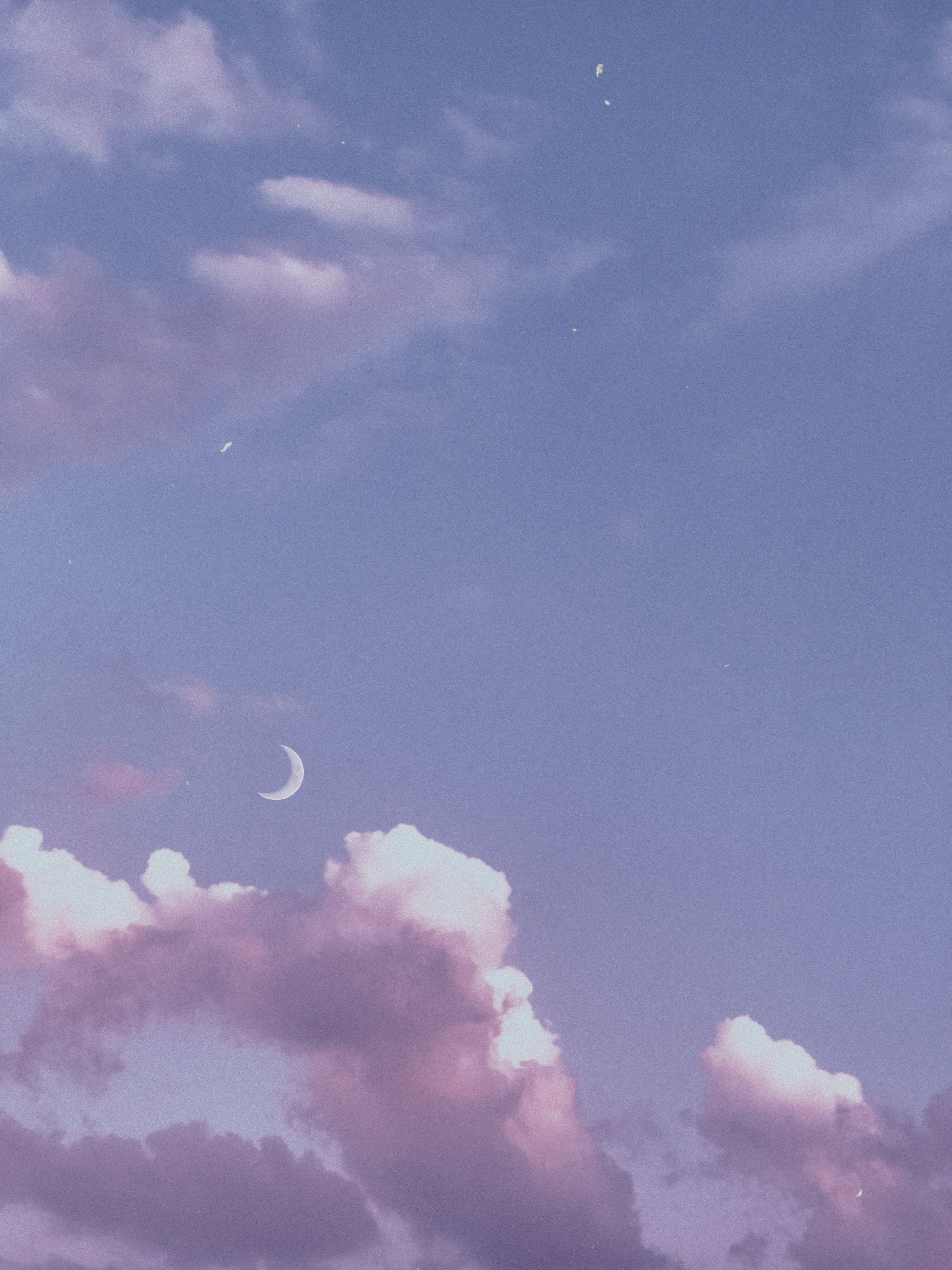 Myphotography Clouds Moon Purple Freetoedit Sky Aesthetic Purple Wallpaper Purple Wallpaper Iphone