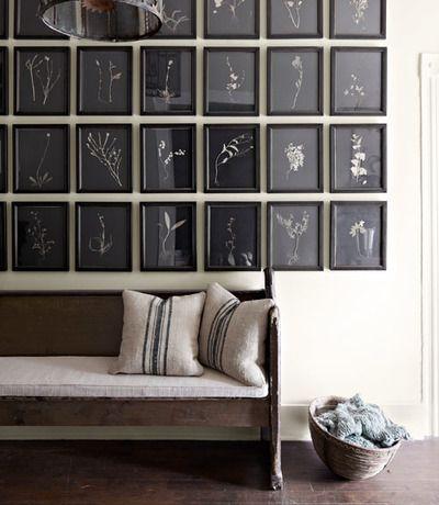 A Natural Antebellum Home Rhythm Frames On Wall Decor