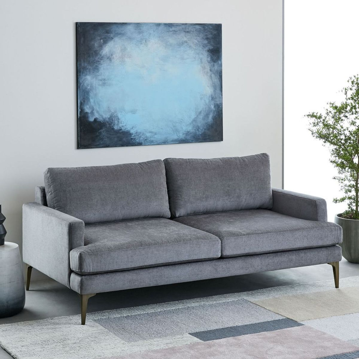 Sofa Modern Skandinavisch Affiliatelink Andes Sofa 194 Cm Metal Distressed