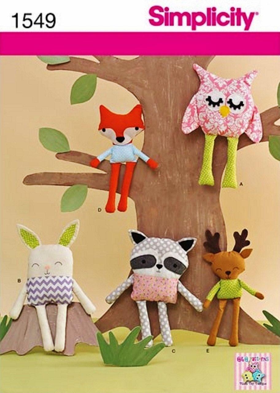 Stuffed Animal Patterns Simplicity Best Inspiration Ideas