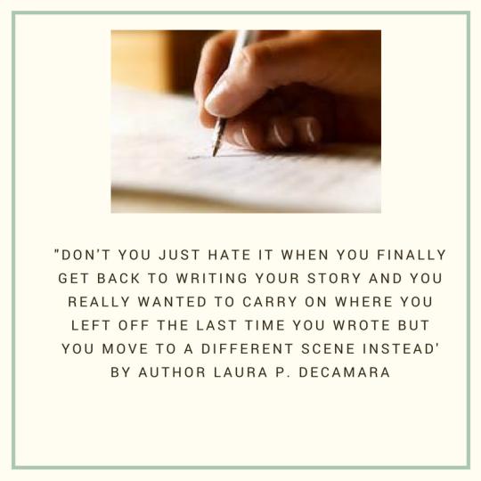 Author Laura Decamara