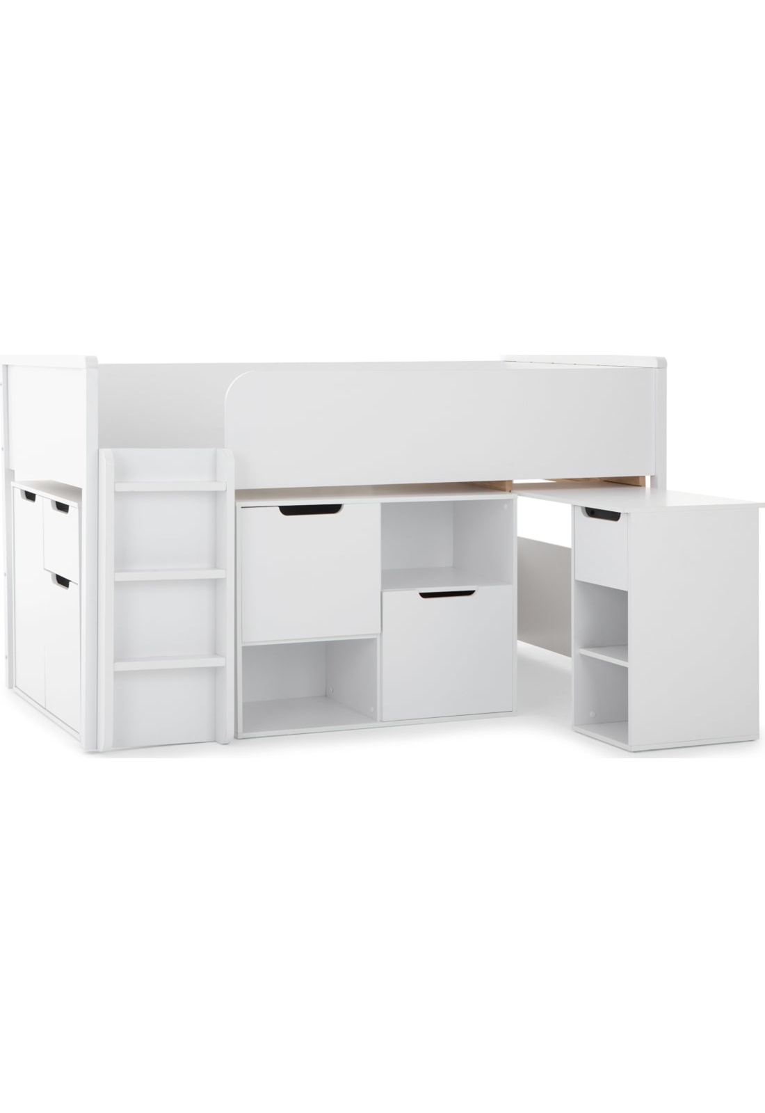 Made Cabin Bed Storage Station 20 Off White Now On Sale Oak