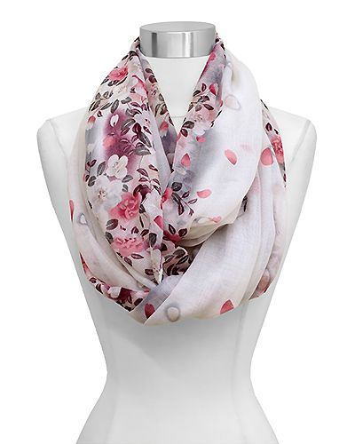 Maggie Infinity Scarf in Orchid on Emma Stine Limited