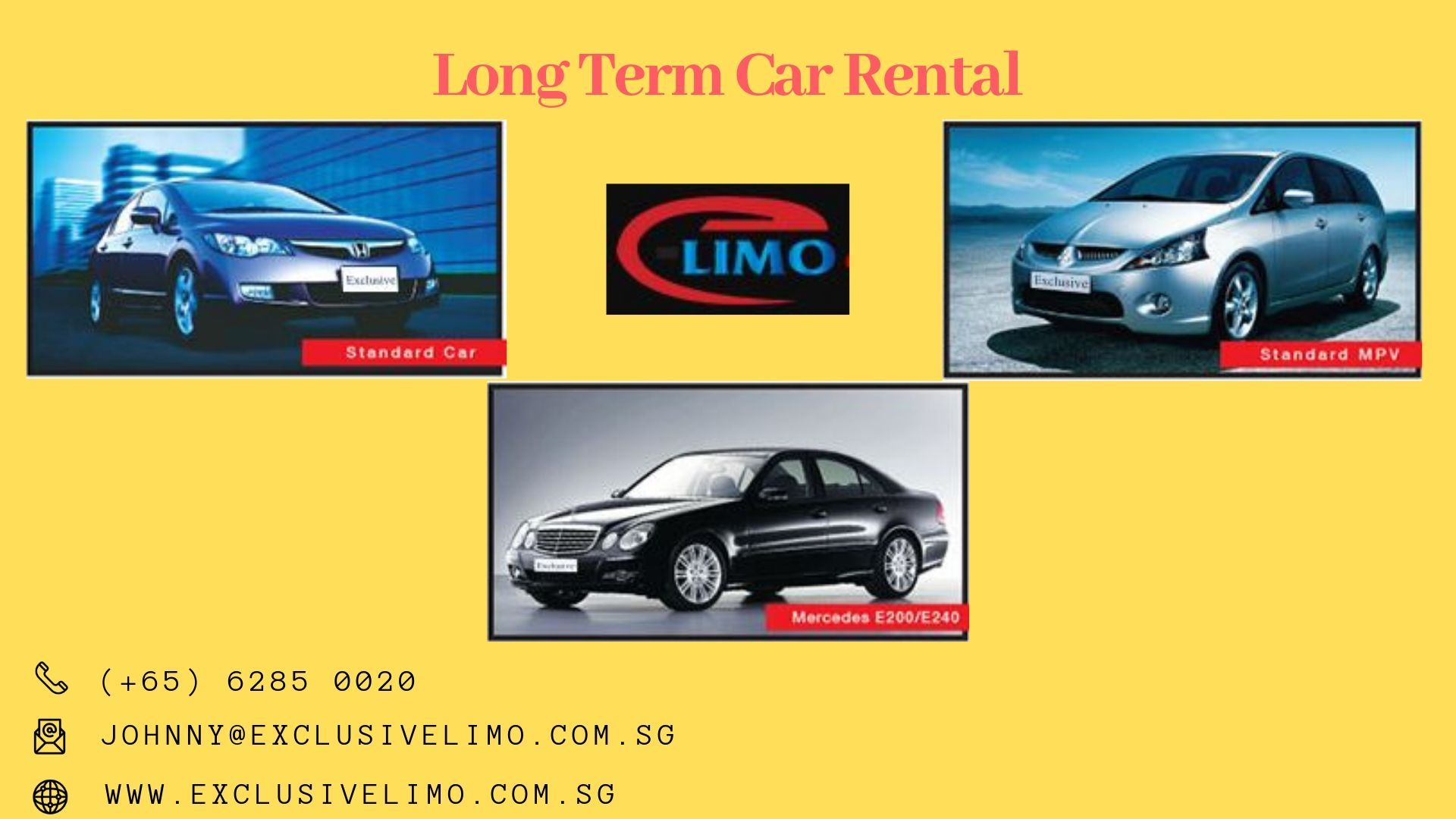 Monthly Rental Car >> Looking For Long Term Car Rental Exclusive Limo Is Offering Monthly