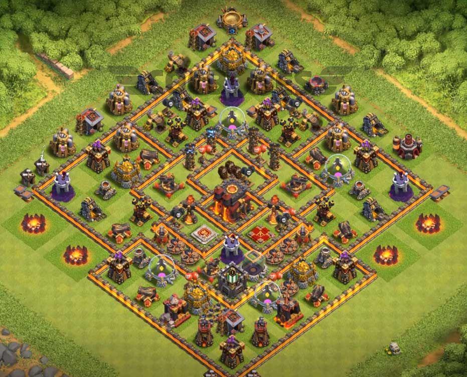 Defense Best Th10 Base 3