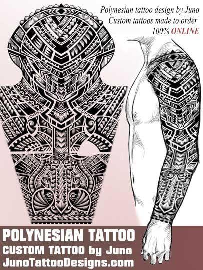 Polynesian Samoan Maori Tattoo Juno Tattoo Designs Maori Tattoos