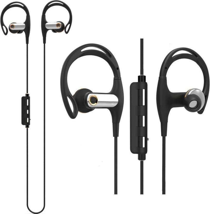 Chkokko Sonexer Gear 16 Sports Wireless Bluetooth Headset With Mic Black Headset Bluetooth
