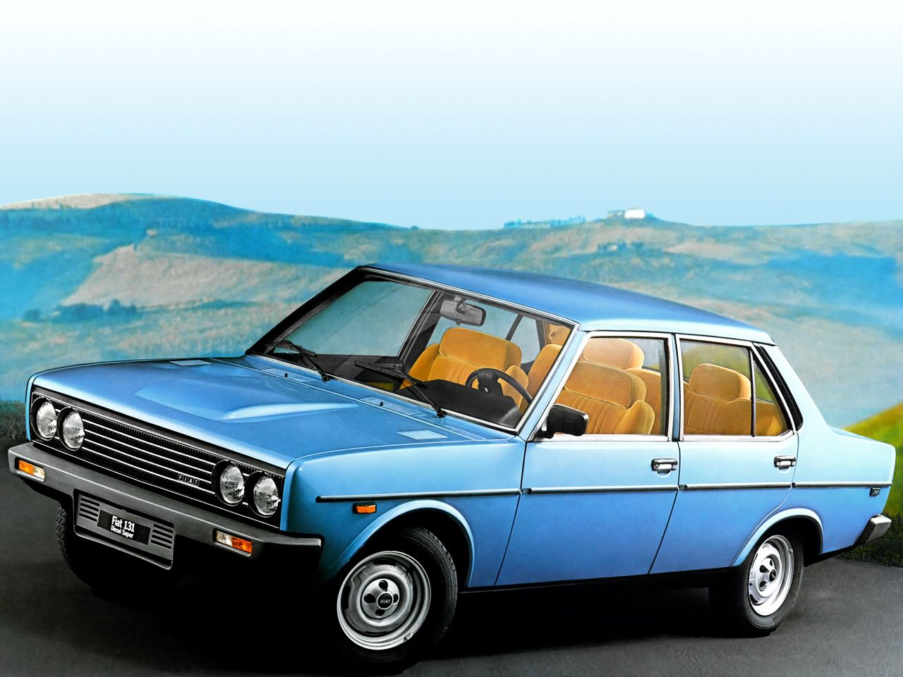 Fiat 131 Mirafiori I Used Own One Of These Same Colour And Interior Love This Car Fiat Cars Fiat Dream Cars