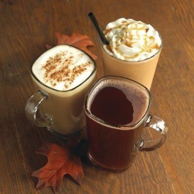 caffè, cappuccino e panna d'autunno http://www.liomatic.it