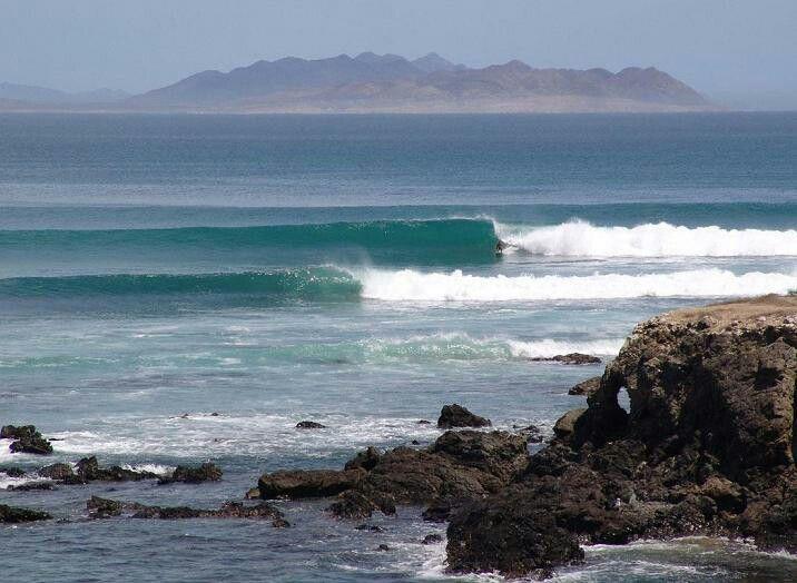 Magdalena Bay Landscape Surfing Outdoor
