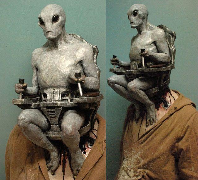 alien mind control halloween mask - Alien Halloween Masks