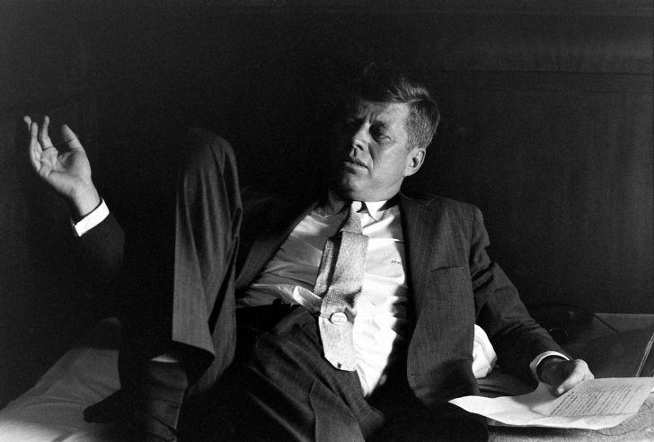 JFK im Wahlkampf