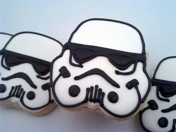 Star wars cookies Cookies GamesSportsTV Pinterest Star wars