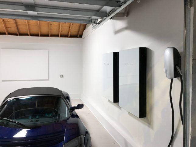 Telsa Powerwall Batteries Solar Roof Solar House Solar Roof Shingles