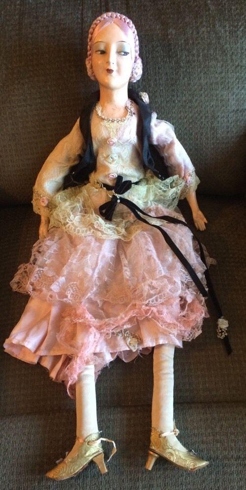 Vintage Doll France Boudoir
