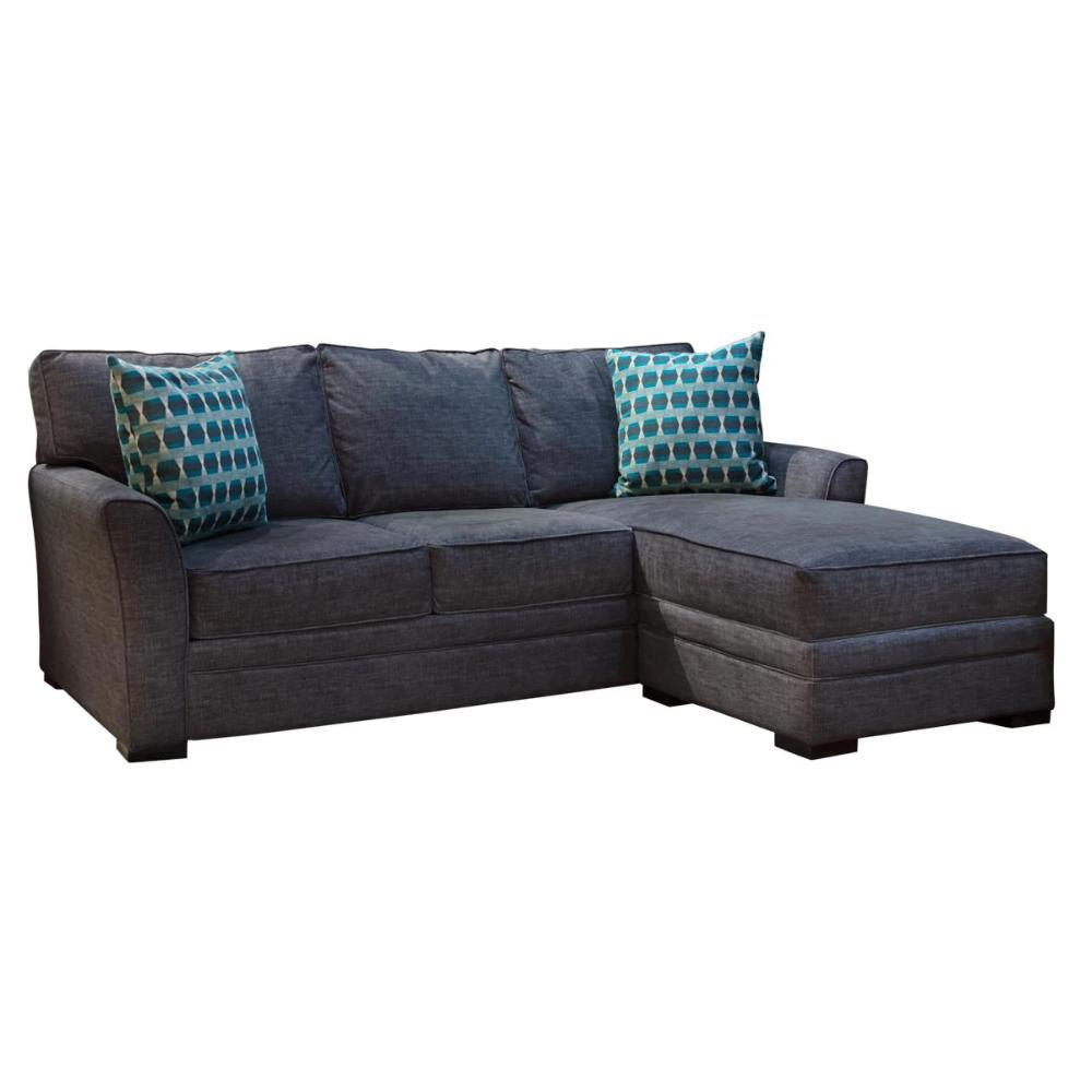 Moda Scorpio Sofa With Reversible Chaise In Cisco Carbo Nebraska