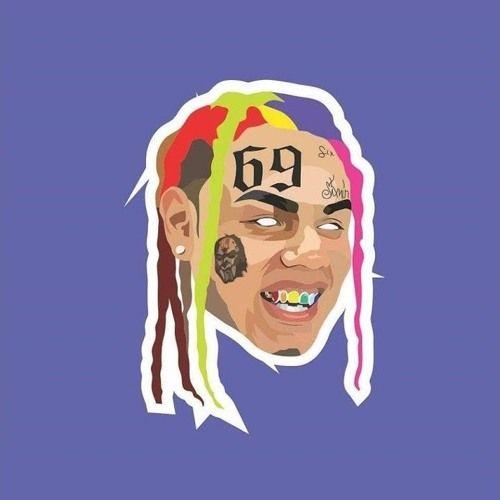 Rappers rapper in 2019 pinterest fondos de pantalla - 6ix9ine cartoon wallpaper ...