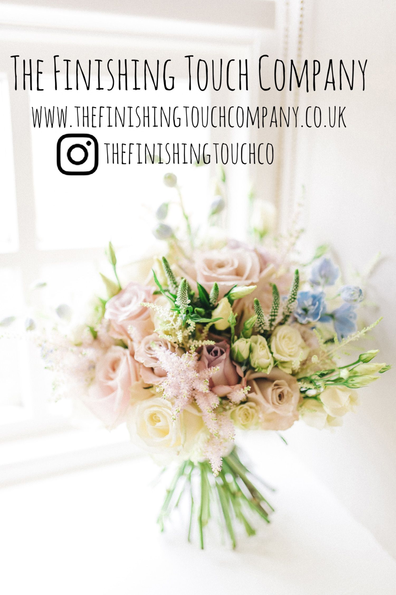 Your perfect english country garden hand tie bouquet made with love made with love by the finishing touch company english country garden handtie bouquet wedding flowers floral pink white wild izmirmasajfo