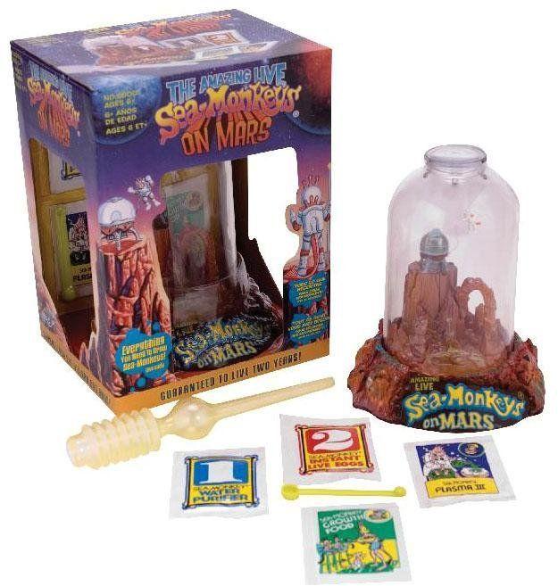 Sea Monkey On Mars Sea Monkeys Toys Animal Lover