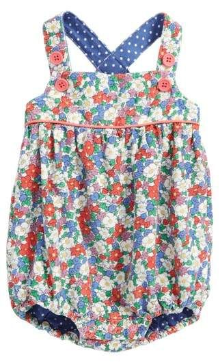 2c3f2ec19c43 Mini Boden Floral Corduroy Romper Baby Bloomers