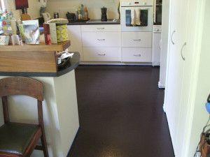 painting kitchen floors   Laundry Room Makeover   Pinterest ...