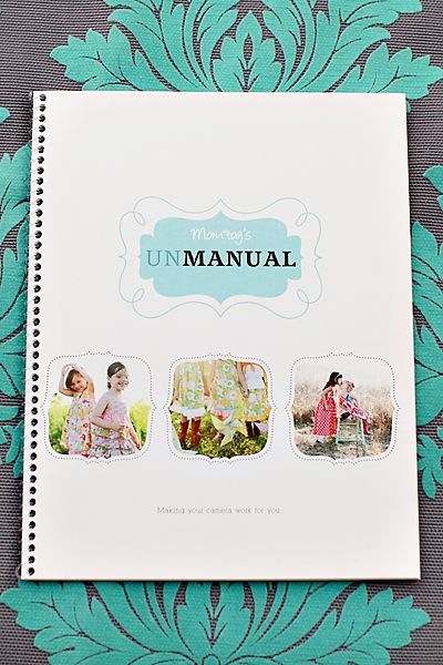 """topic that is covered, giving you a great visual on what is being explained.  I'm not much of a """"manual reading girl"""" – more of a """"visual girl"""" and the UNmanual is the perfect solution!    It will change the way you think of your camera.  Words like aperture and exposure will no longer scare you.  You will take pictures you only dreamed you could take.  You will have the confidence to use your camera like it"""