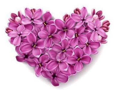 Heart Made of Flowers Flower tattoos, Lilac tattoo