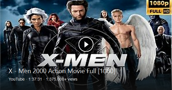 X Men 2000 Action Movie Full 1080 In 2020 Action Movies Oscar Winning Movies X Men