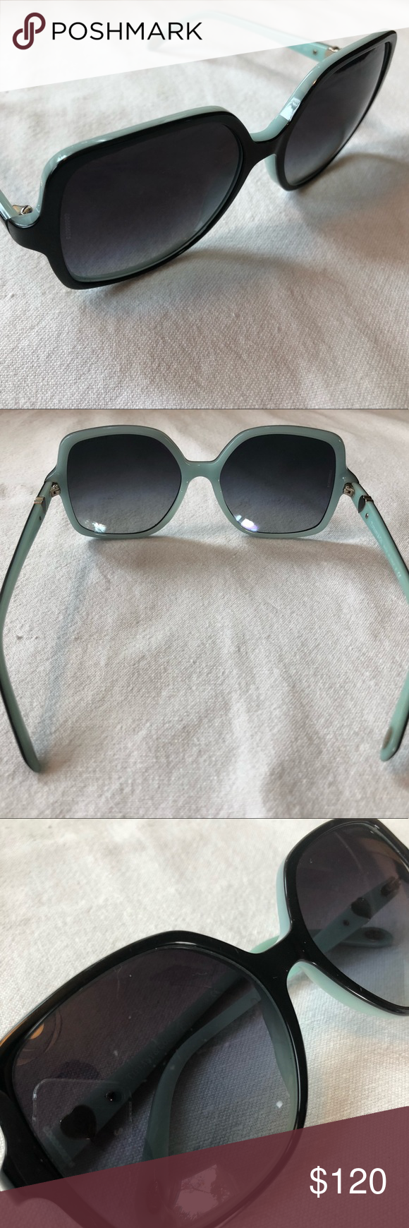 6512edae9d64 Tiffany   Co. Sunglasses Used great condition real Tiffany   Co. Sunglasses  Style  TF 4050 8055 3C Slight minor scratches on lenses