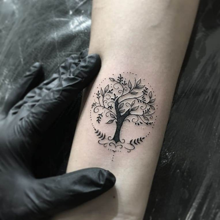 50+ Best Small and Minimalist Tattoo Designs for Women Because Happiness comes in Small packets - Hike n Dip
