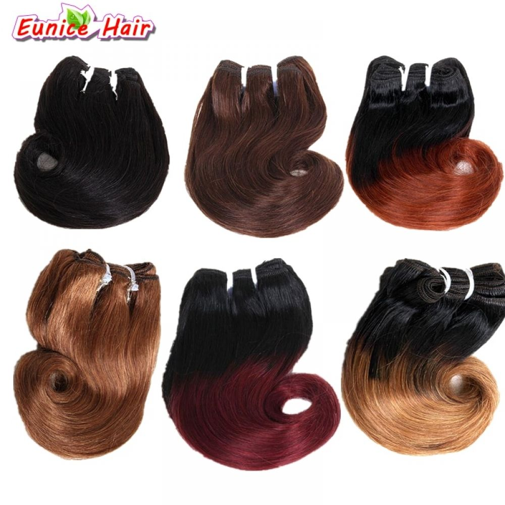 8inch Brazilian Hair Body Wave 4pcs 100g Brazilian Hair Weave Bundles Ombre Color Short Weave Curly Hair Extension Price 2000  FREE Shipping jewelrygram watches jewellery...