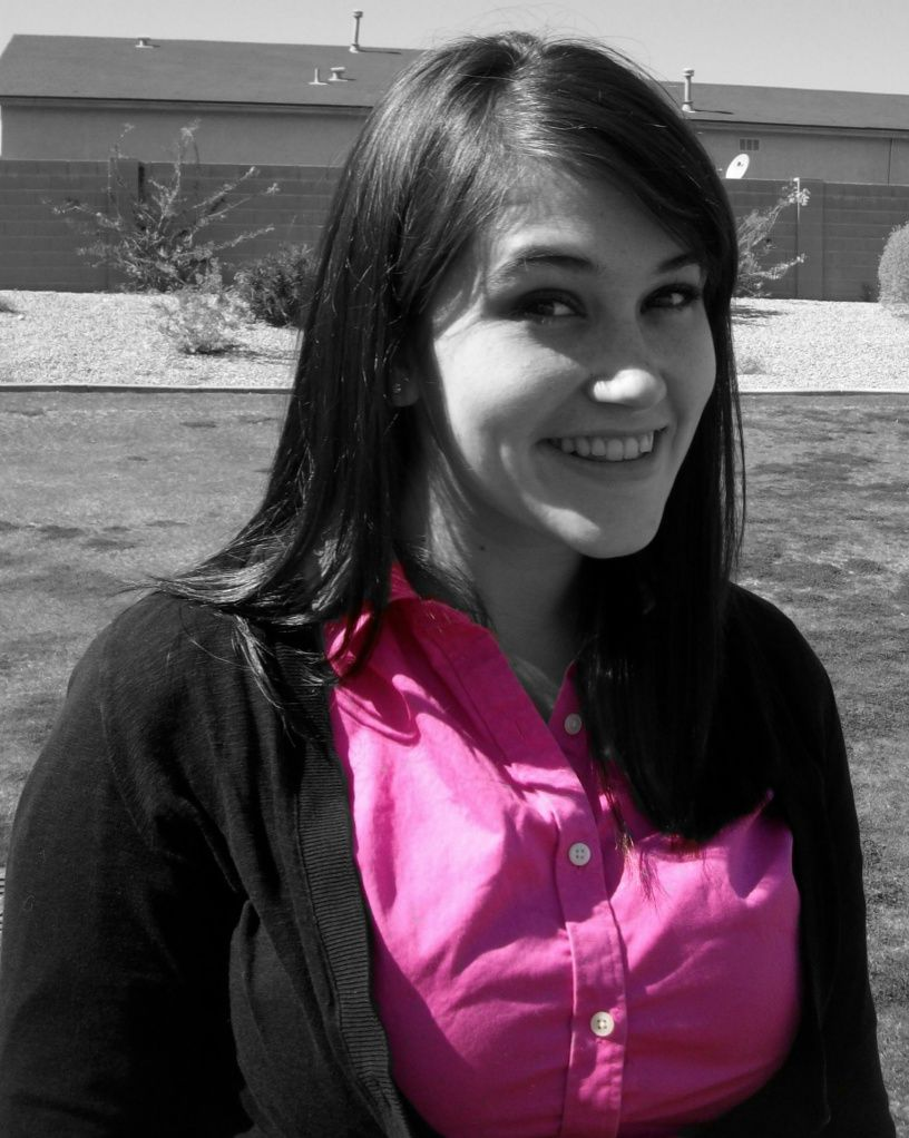 its sarah....pinked out