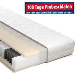 Schlaraffia Taschenfederkernmatratze Colla 30 Tfk - H2 - 100x200 cm Roller