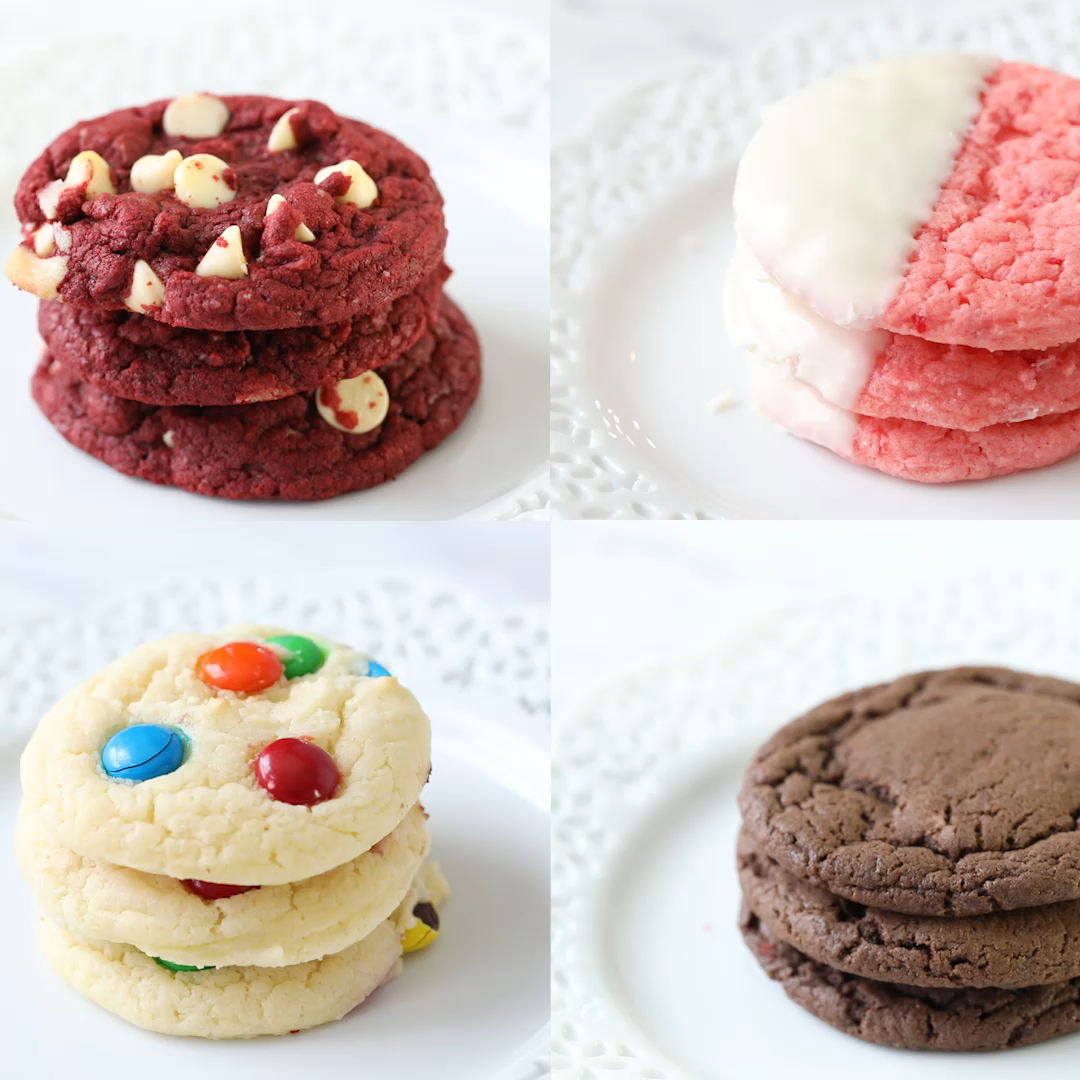 Cake Mix Cookies (3-ingredients!)