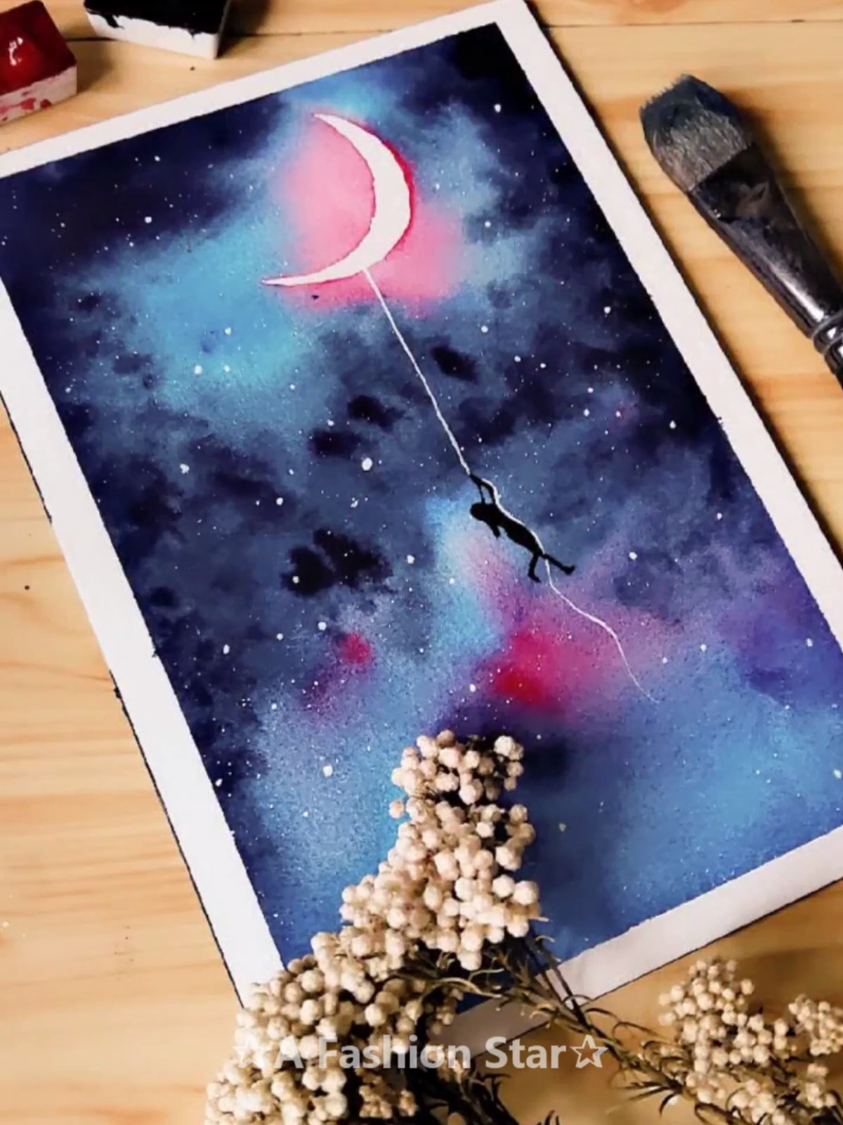 14 Easy Watercolor Painting – Watercolor Painting Ideas  Are you looking for easy and beautiful W