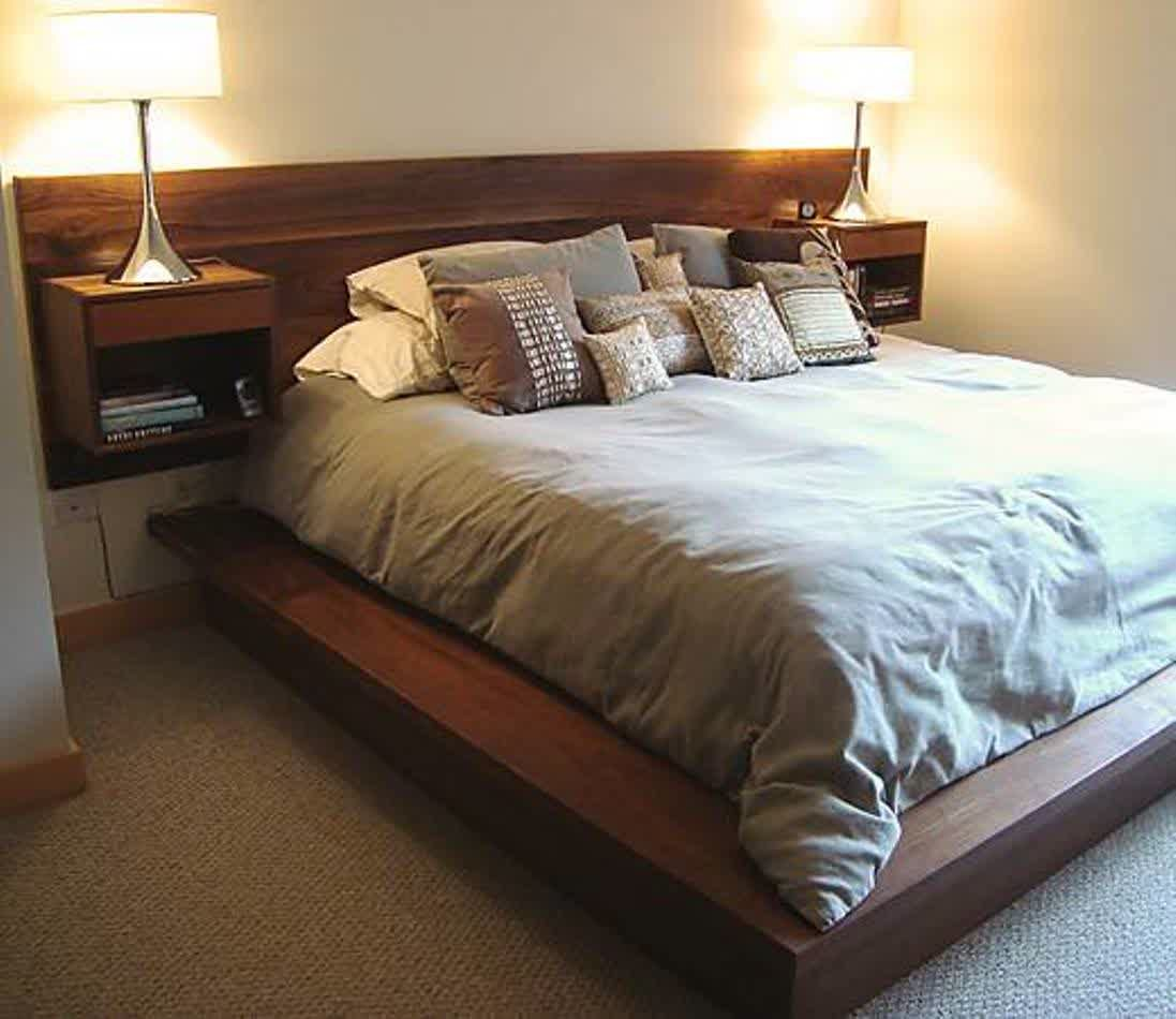 Canvas Of Broad Selections Of Wall Mounted Headboards Wall