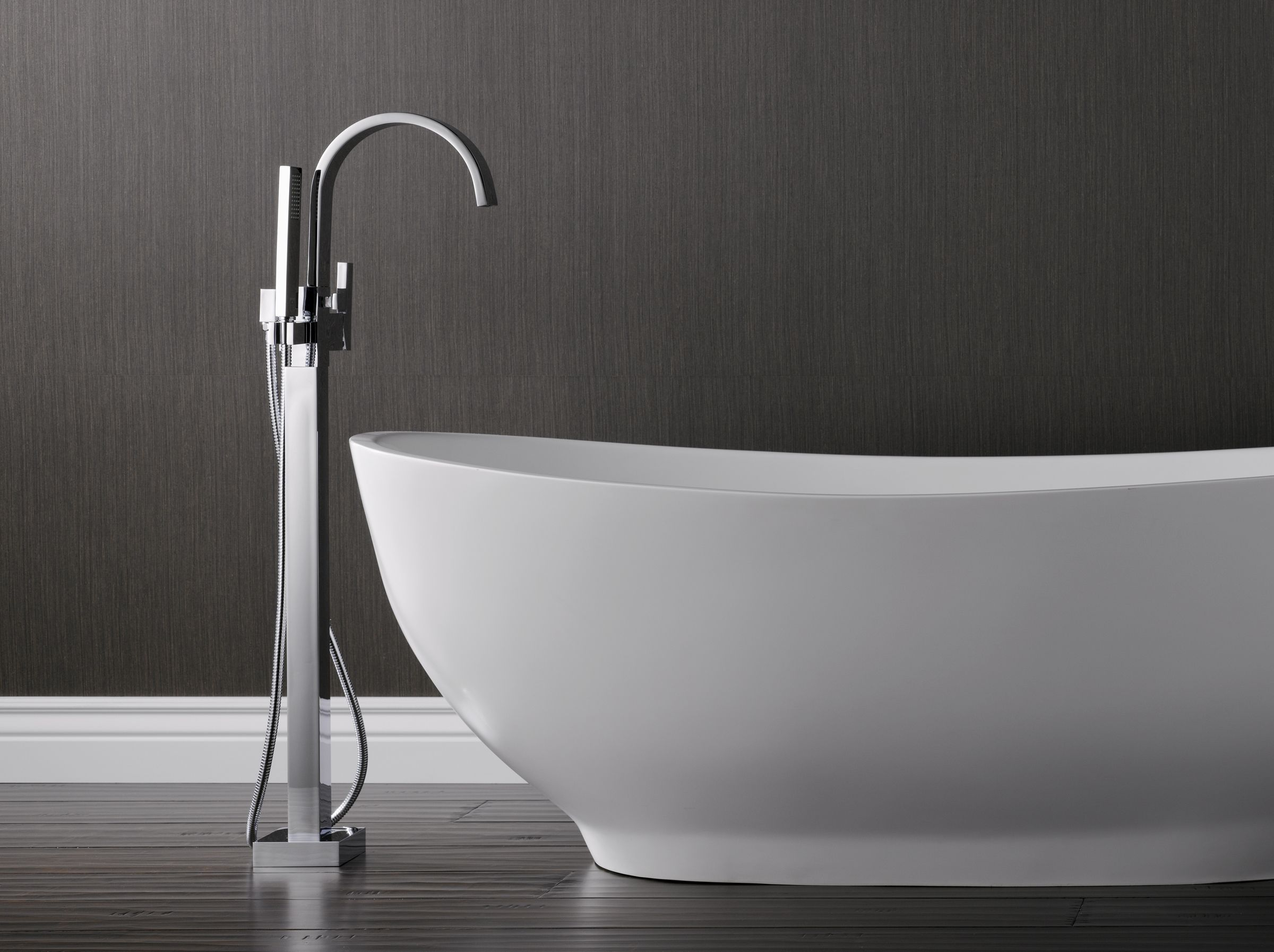 Brizo Freestanding Tub fillers are trending big as a carryover from ...