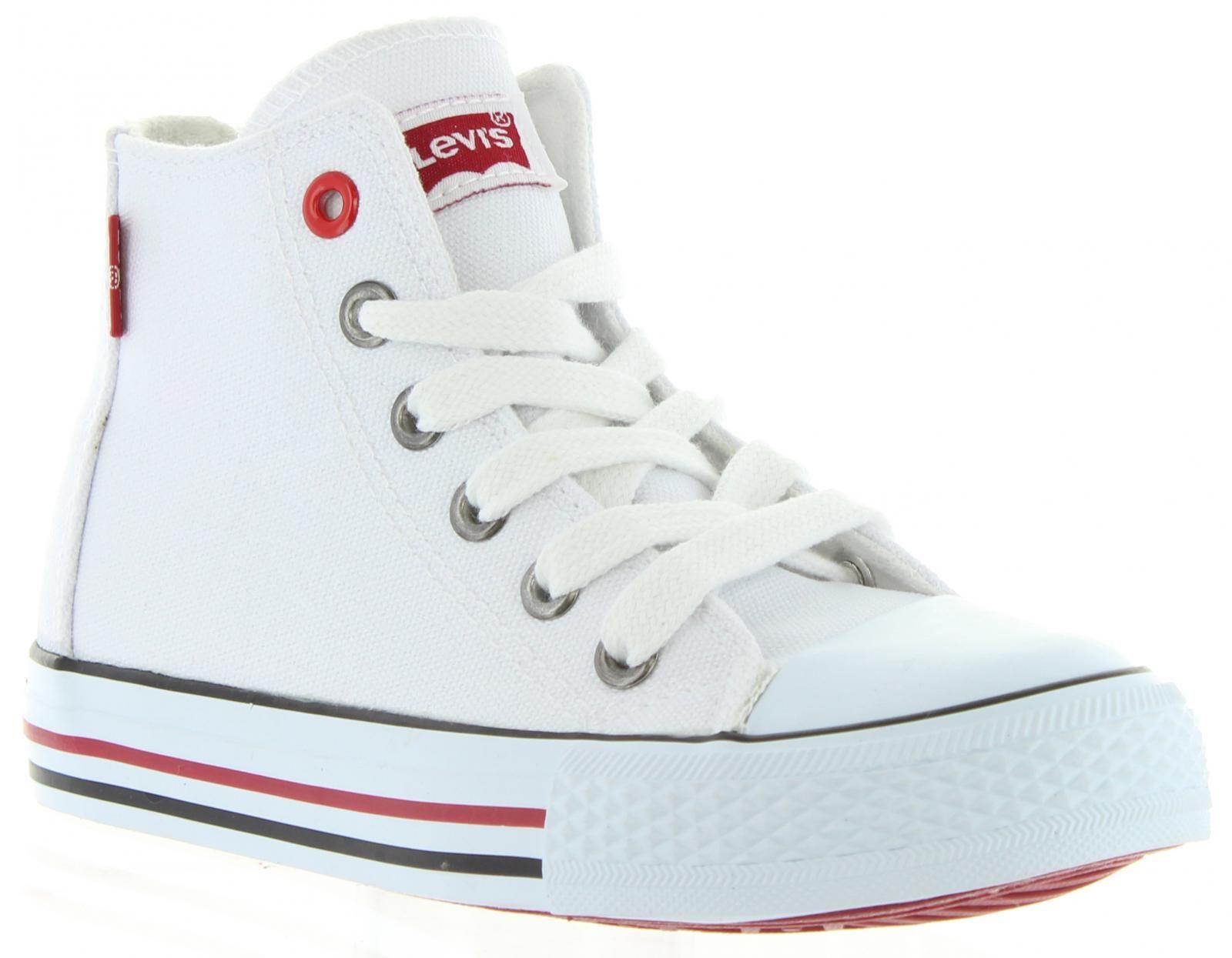 bac0d9a4 Botas #Levis. Botas #deportivas blancas Levis. Calzado cómodo y perfecto  para combinar