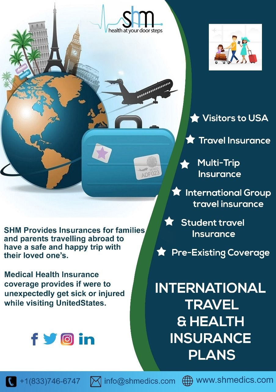 Purchase visitors insurance for your parents and protect