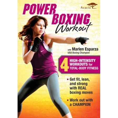 Power Boxing Workout With Marlen Esparza (dvd), Y