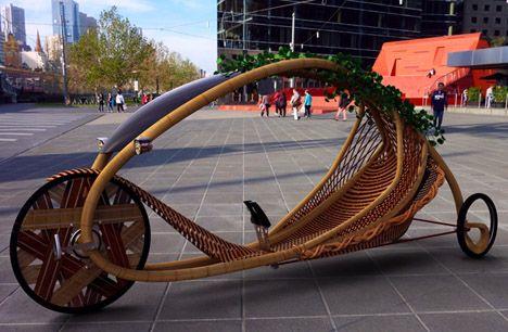 #bamboo vehicle