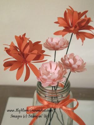 How to make paper flowers video tutorial thats clever how to make paper flowers video tutorial mightylinksfo